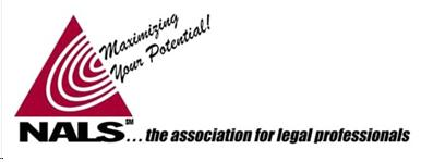 NALS logo - the association fo legal professionals